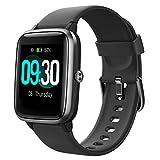 Willful Smartwatch,Reloj Inteligente con Pulsómetro,Cronómetros,Calorías,Monitor de...