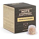 Note d'Espresso - Jengibre - Cápsulas de Tisana compatibles con Cafeteras NESPRESSO* - 40 caps