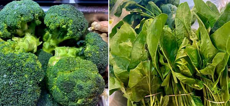 Vegetales verdes que mejoran la digestión