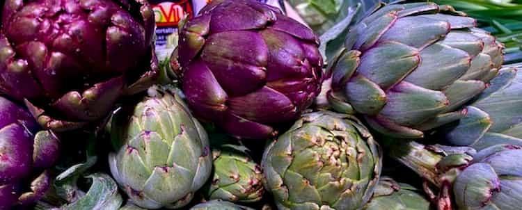 alcachofas que mejora el proceso digestivo