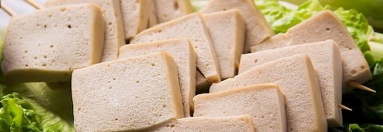 Tofu rico en grasas saludables