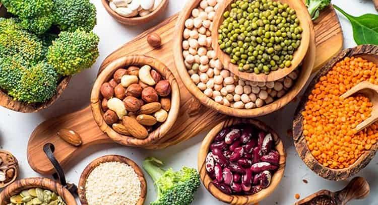 Proteinas de las legumbres y cereales