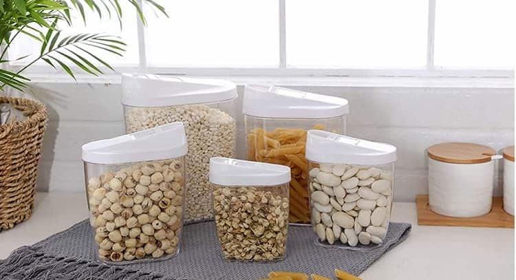 12 Mejores Botes y Tarros para Almacenar Legumbres y Alimentos