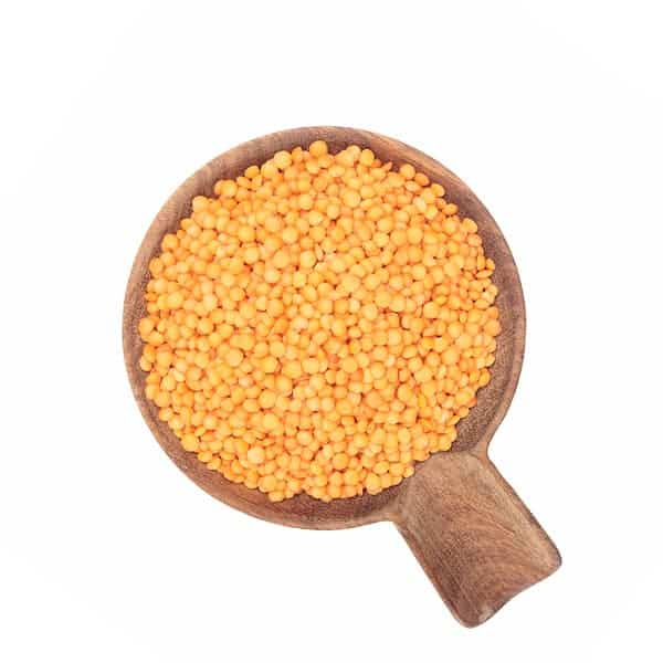 Lenteja pelada roja ecológica a granel